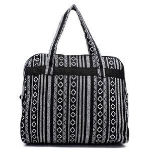 Handbags - Aztec Print Jacquard Travel Tote Carry On Bag